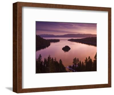 Winter Sunrise at Emerald Bay, Lake Tahoe