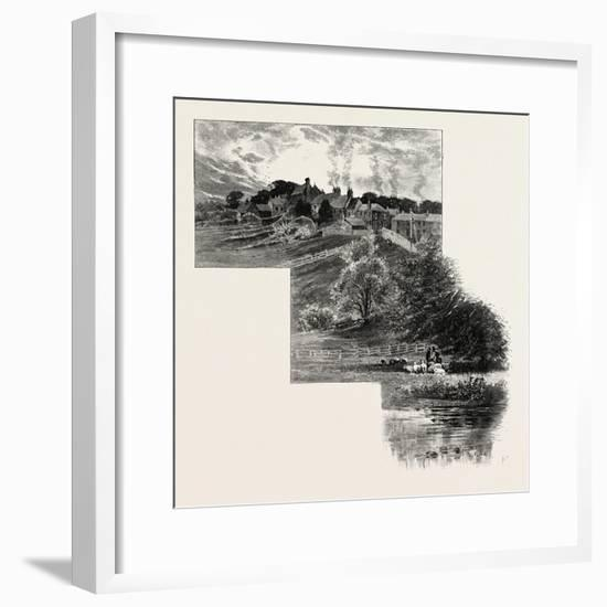 Witton-Le-Wear--Framed Giclee Print