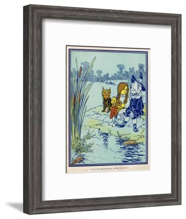 Wizard of Oz, Scarecrow--Framed Giclee Print