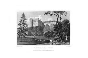 Farnham Castle, Surrey, 1830 by WJ Cooke