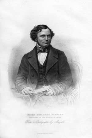 Edward Henry Stanley, 15th Earl of Derby, (1826-189), British Statesman, 19th Century