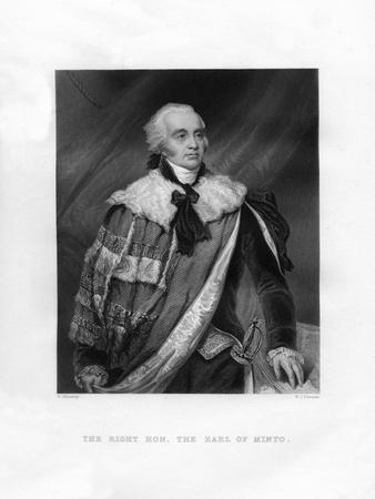 Gilbert Elliot Murray-Kynynmound, 1st Earl of Minto, 19th Century