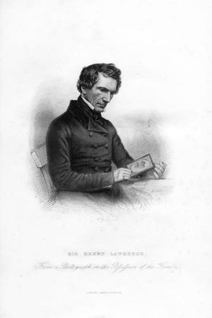 Sir Henry Montgomery Lawrence, (1806-185), British Soldier and Statesman in India, 19th Century