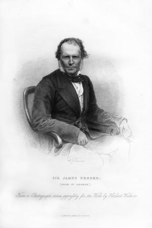 Sir James Brooke, Rajah of Sarawak, 19th Century