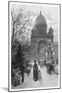 The Carlton Gardens, Melbourne, 1886 by WJ Smedley