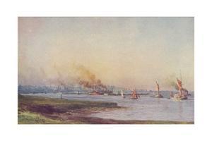 'An Estuary', 1910 by WL Wythe