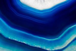 Background of Slice of Blue Agate Crystal by Wlad74