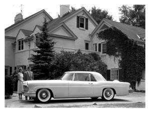 WM Clay Ford Lincoln Continental, 1955