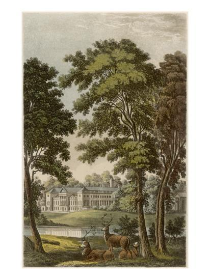 Woburn Abbey, Bedfordshire: Seat of the Duke of Bedford--Giclee Print