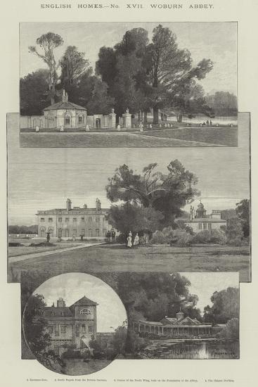 Woburn Abbey-Charles Auguste Loye-Giclee Print