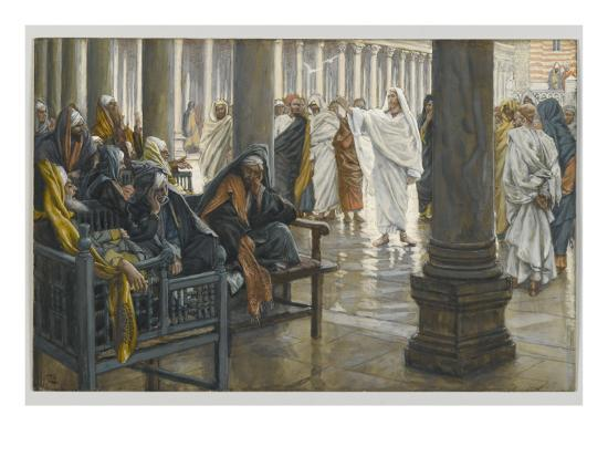 Woe Unto You, Scribes and Pharisees, Illustration from 'The Life of Our Lord Jesus Christ', 1886-94-James Tissot-Giclee Print