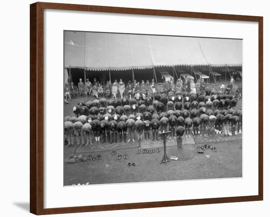 Woking Muslims--Framed Photographic Print