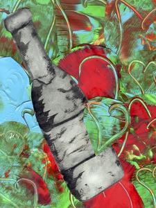 Bottle of Wine by Wolf Heart Illustrations