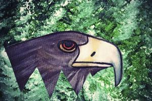 Eagle Head by Wolf Heart Illustrations