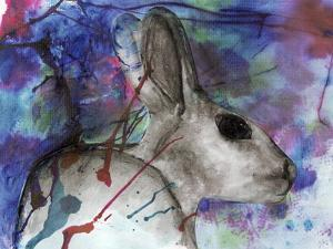 Hare Head by Wolf Heart Illustrations