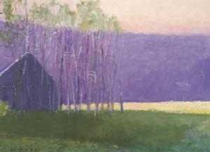 Barn in a Soft Light, 2002 by Wolf Kahn
