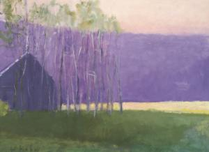 Barn in a Soft Light, 2002 by Wolf Kahn