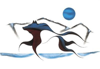 Wolf Spirit II-Isaac Bignell-Giclee Print