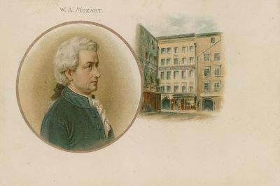 Wolfgang Amadeus Mozart, Austrian Composer and Musician--Giclee Print