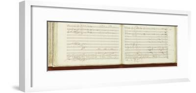 Autograph Copy of 'The Magic Flute'