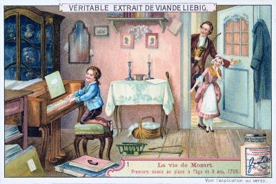 Wolfgang Amadeus Mozart in 1759--Giclee Print
