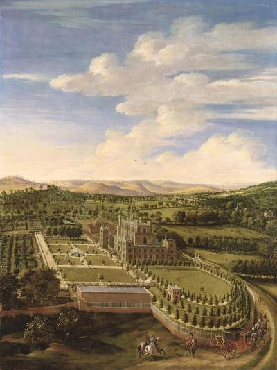 Wollaton Hall and Park, Nottingham, 1697-Jan Siberechts-Giclee Print