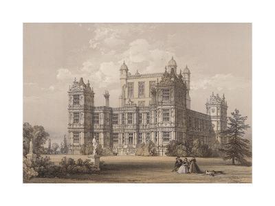 Wollaton Hall, Nottinghamshire-Thomas Allom-Giclee Print