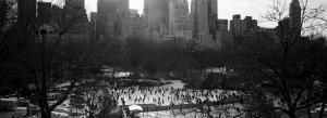 Wollman Rink Ice Skating, Central Park, New York City, New York State, USA