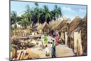 Wolof, or Ouolof Village, Senegal, 20th Century