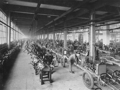 Wolseley Factory, Birmingham, C1921--Photographic Print
