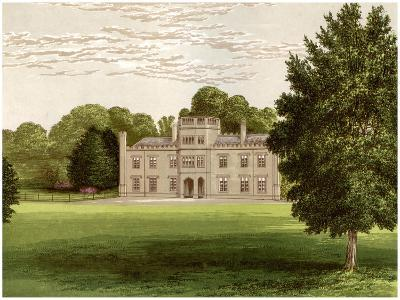 Wolseley Hall, Staffordshire, Home of Baronet Wolseley, C1880-Benjamin Fawcett-Giclee Print