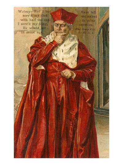 Wolsey from Henry VIII--Art Print