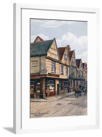 Wolsey's Birthplace, Ipswich-Alfred Robert Quinton-Framed Giclee Print