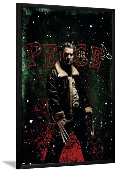 Wolverine: Flies To A Spider No.1 Cover: Wolverine-Tim Bradstreet-Lamina Framed Poster