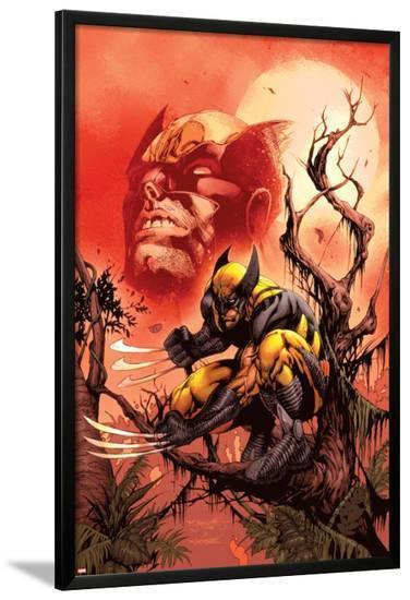 Wolverine: Killing Made Simple No.1 Cover: Wolverine-Stephen Segovia-Lamina Framed Poster