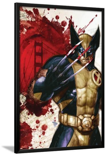 Wolverine: Manifest Destiny No.1 Cover: Wolverine-Dave Wilkins-Lamina Framed Poster