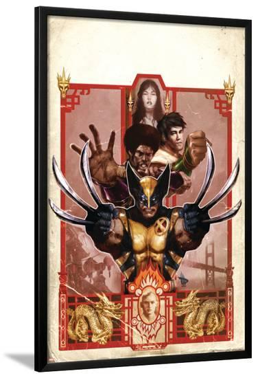 Wolverine: Manifest Destiny No.3 Cover: Wolverine-Dave Wilkins-Lamina Framed Poster
