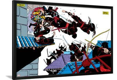Wolverine No.2 Group: Wolverine-Frank Miller-Lamina Framed Poster