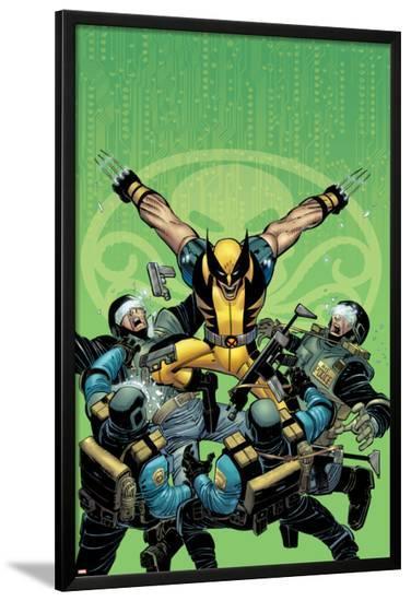 Wolverine No.23 Cover: Wolverine-John Romita Jr^-Lamina Framed Poster