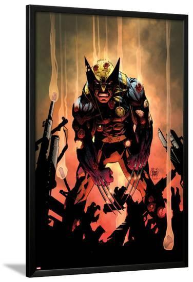 Wolverine No.300 Cover-Adam Kubert-Lamina Framed Poster