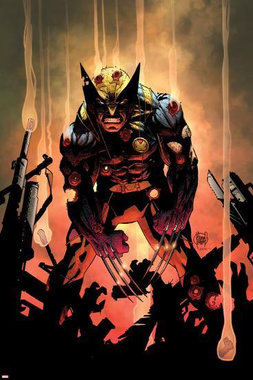 Wolverine No.300 Cover-Adam Kubert-Poster