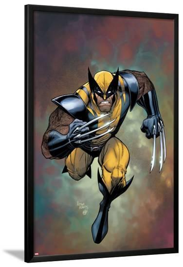 Wolverine No.302 Cover-Arthur Adams-Lamina Framed Poster