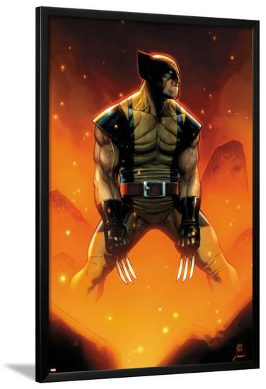 Wolverine No.305 Cover-Jim Cheung-Lamina Framed Poster