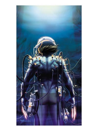 Wolverine No.38 Cover: Wolverine-Javier Saltares-Art Print