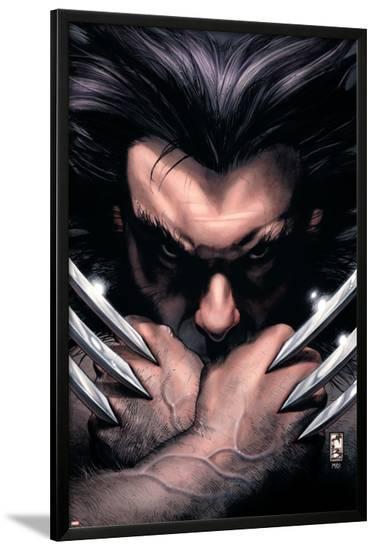 Wolverine No.55 Cover: Wolverine-Simone Bianchi-Lamina Framed Poster