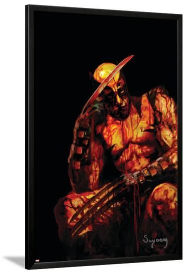 Wolverine No.61 Cover: Wolverine--Lamina Framed Poster