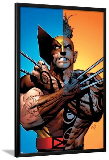 Wolverine: Origins No.26 Cover: Wolverine and Daken-Greg Land-Lamina Framed Poster