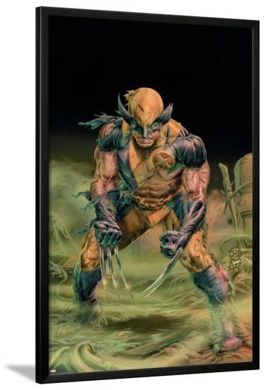 Wolverine Origins No.37 Cover: Wolverine-Doug Braithwaite-Lamina Framed Poster