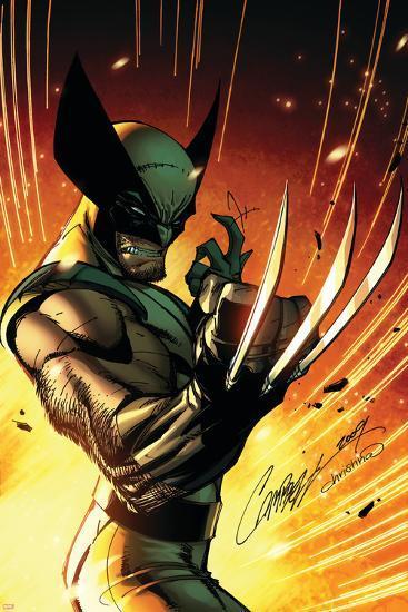 Wolverine: Savage No.1 Cover: Wolverine-J. Scott Campbell-Art Print