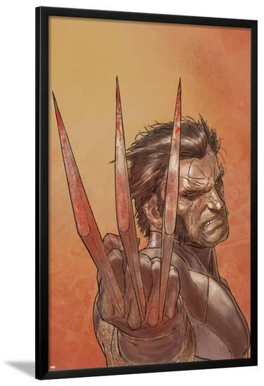 Wolverine Weapon X No.1 Cover: Wolverine-Ron Garney-Lamina Framed Poster